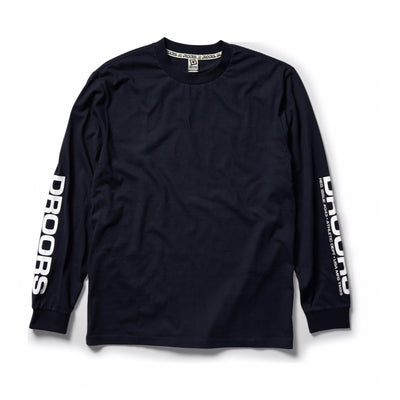 DROORS NO 43 LONG SLEEVE TEE