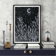 Load image into Gallery viewer, Celestial Art Print - Moonlit