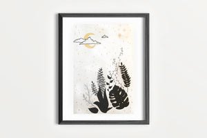 Art Print - Moonlit Night