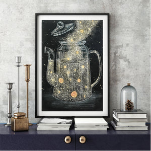 Extra Large Celestial Art Print - Choose your own Design