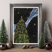 Load image into Gallery viewer, Yule Art Print - Yule Tree