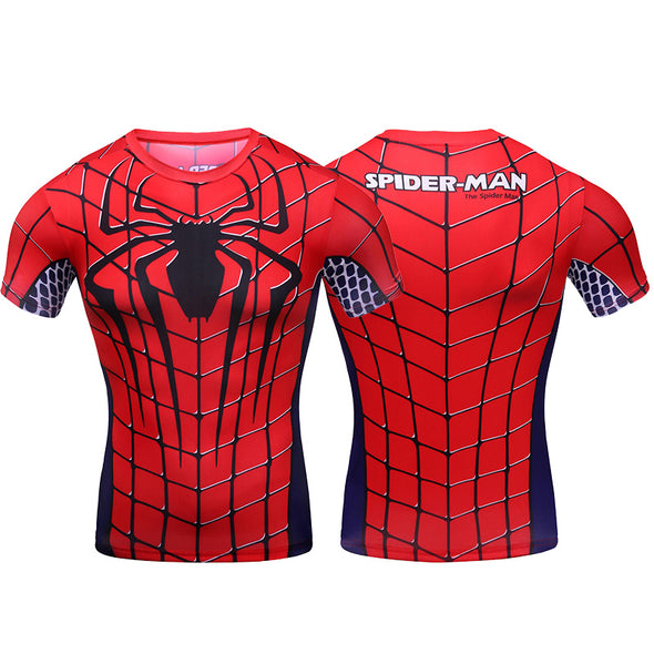 Spider-Man spider suits t-shirts
