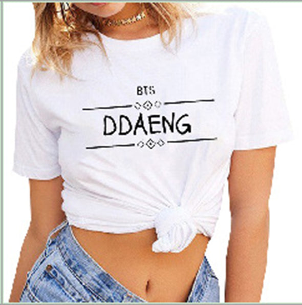 High Quality Women's Print Short Sleeve T-Shirt