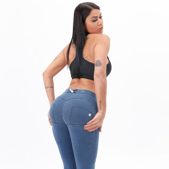 Women's compression butt enhancing jeans