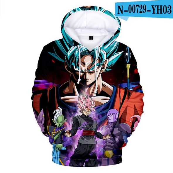 Dragon Ball Super Broly 3D Printed Hoodie