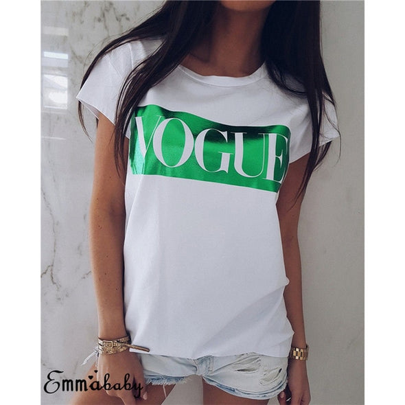 New Fashion VOGUE Tshirt