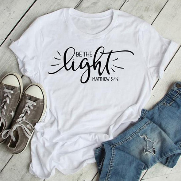 Be The Light matthew Christian T-Shirt