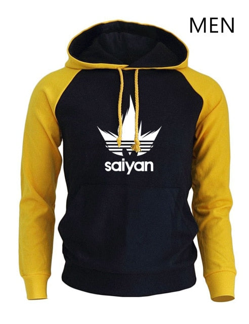 Anime Dragon Ball Z Super Saiyan Hoodie