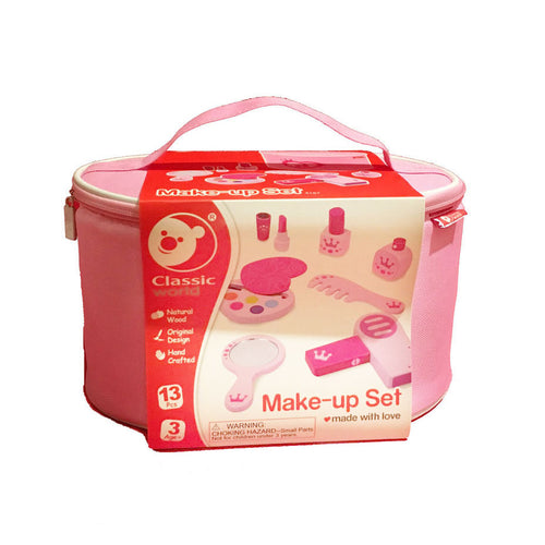 #  3  Classic World Houten Make-up Set, 11dlg.