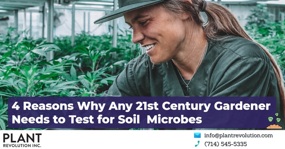 4 Reasons Why Any 21st Century Gardener Needs to Test for Soil Microbes