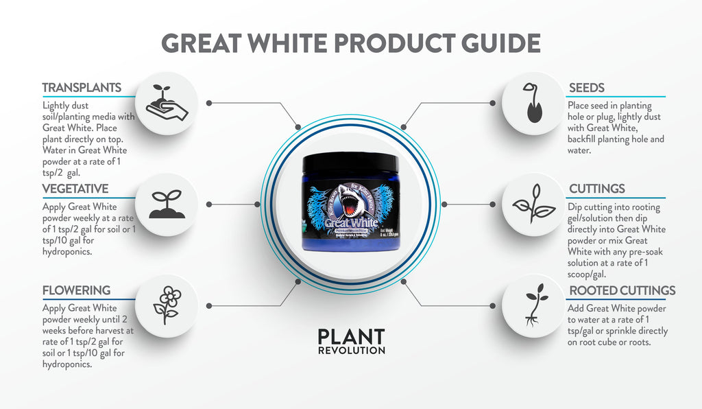 great white product guide