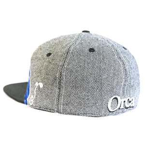 Image of back of Orca hat