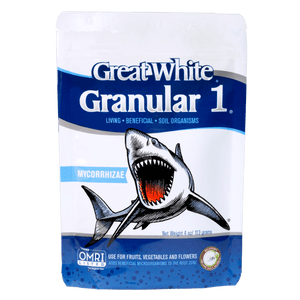 Great White Granular 1® - Single Species Mycorrhizae