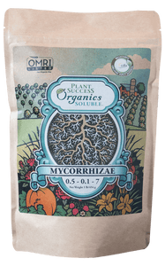 Plant Success Organics Soluble® Mycorrhizae - with Bacteria, Kelp and Humic Acids