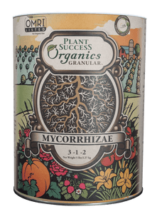 Plant Success Organics Granular® Mycorrhizae with Bacteria and All-Purpose Fertilizer
