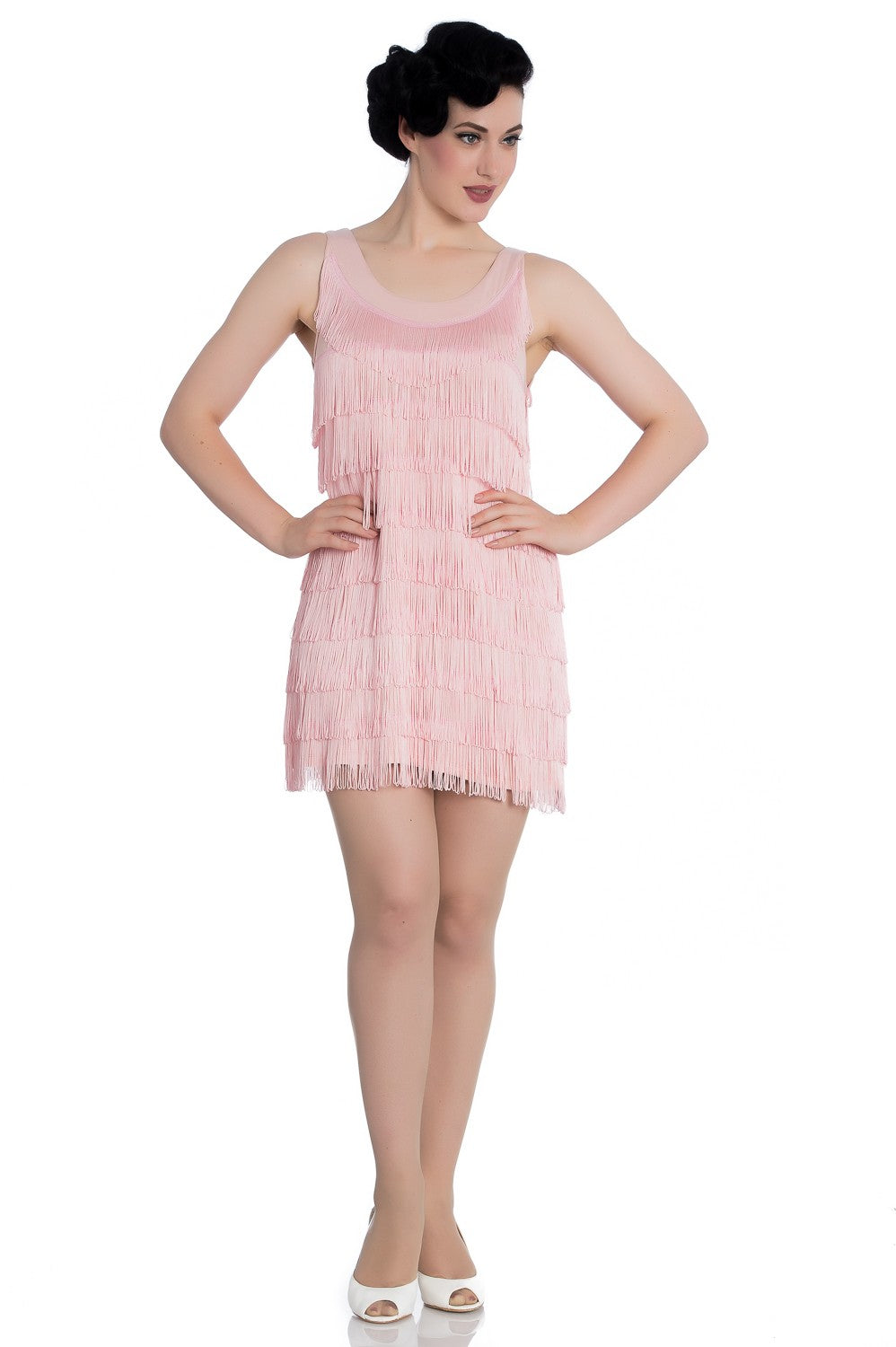 1920's Dress in Pink
