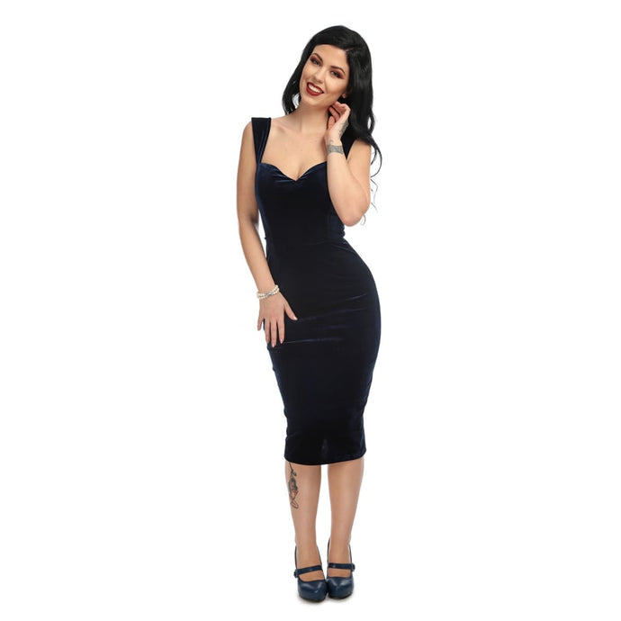 Andromeda Velvet Pencil Dress
