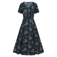 Load image into Gallery viewer, DAISY POLKA FLORAL DRESS