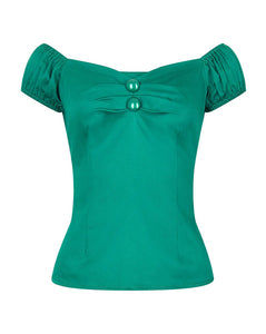 Dolores Plain Top Green