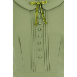 GIANNINA SWING DRESS GREEN
