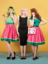 Load image into Gallery viewer, Jasmine Watermelon Swing Skirt