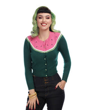 Load image into Gallery viewer, Jessie Watermelon Cardigan