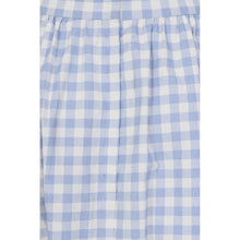 Load image into Gallery viewer, Katherine Gingham Swing Skirt in Pale Blue