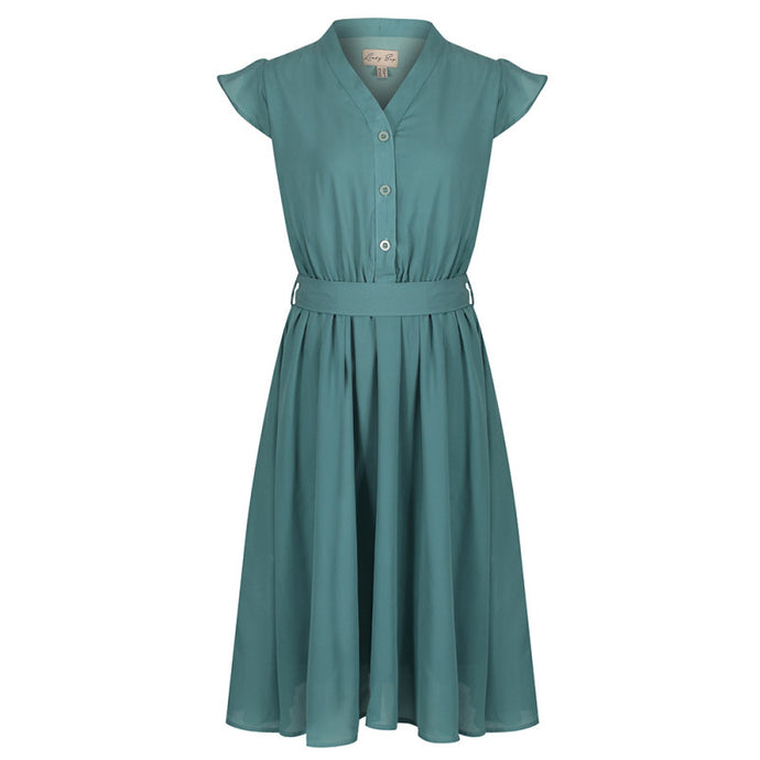 Kody Sage Green Tea Dress