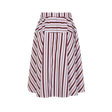 Load image into Gallery viewer, Kylie Candy Stripe Swing Skirt