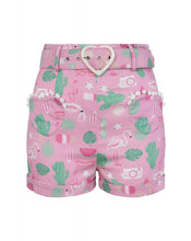 Load image into Gallery viewer, Lisa Summer Flamingo Shorts on Sale