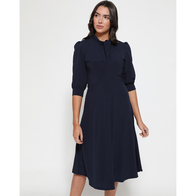 Lyla Navy Tea Dress