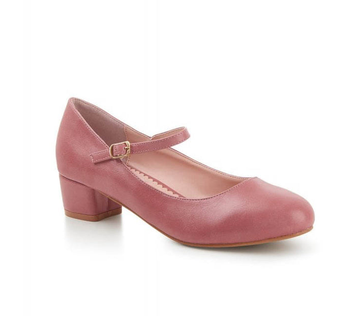 Mary Jane Heel Pink