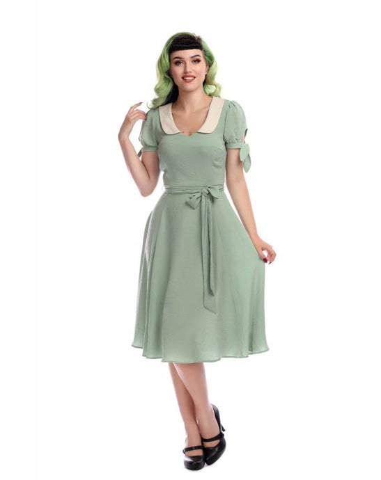 Mirella Plain Swing Dress