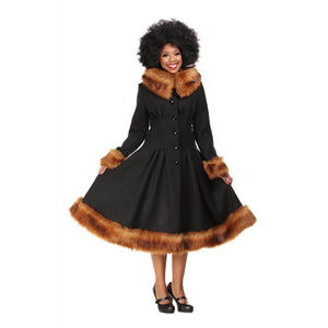 PEARL COAT BLACK