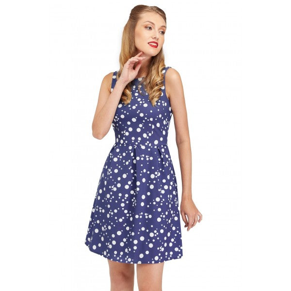 Joan Vintage Cool Polka Dot Summer Dress