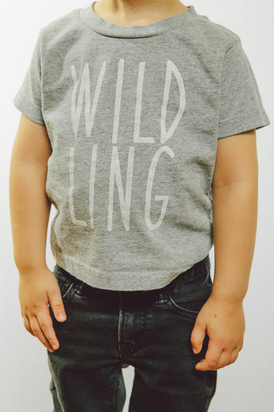 Toddler 'Wildling' Tee