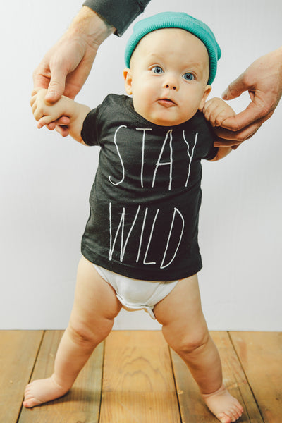 Infant 'Stay Wild' Tee