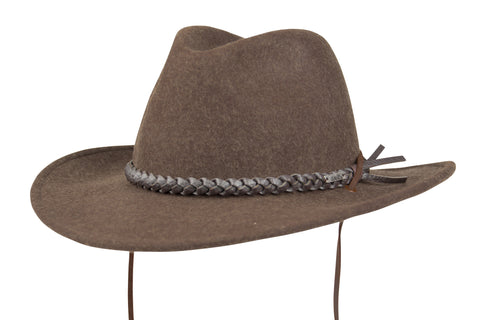 The Wild Brim Hat - Brown