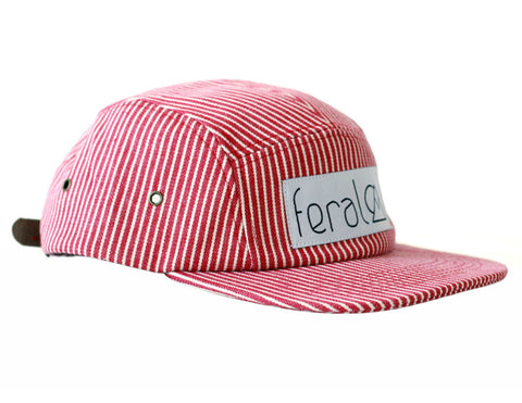 The 5 Panel Hat - Stripe
