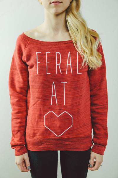 Women's 'Feral At Heart' Sweater