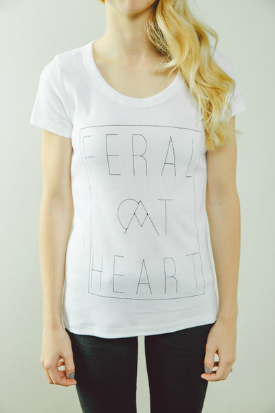 Women's 'Feral At Heart' Tee