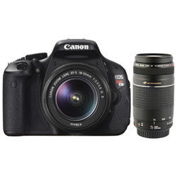Canon EOS Rebel T3 12.2MP DSLR Camera With 18-55mm Lens, Camera Case & Memory Card