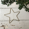 Fog Linen | Decorative Brass Wire Star