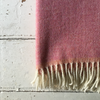 McNutt | Home Collection Wool Blanket - Fruity Pink