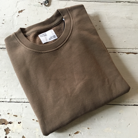 Colourful Standard | Classic Organic Crew Neck - Chocolat