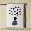Gemma Koomen | Greeting Card - Bird Thoughts