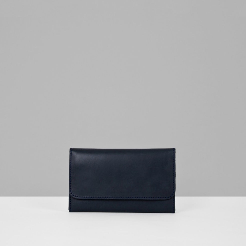 Le Bas | Leather Wallet - Navy