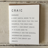 The Pear In Paper | Greeting Card - Craic