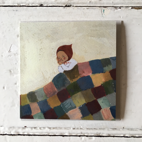 Gemma Koomen | Greeting Card - The Quilt