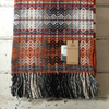 Molloy & Sons | Diamond Weave Blanket - Orange